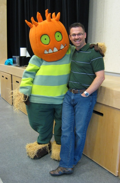 Spike and his buddy KCA principal Mike Ouellette