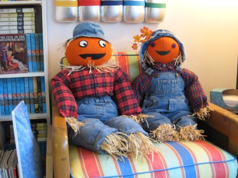 Buster and Patty Pumpkin