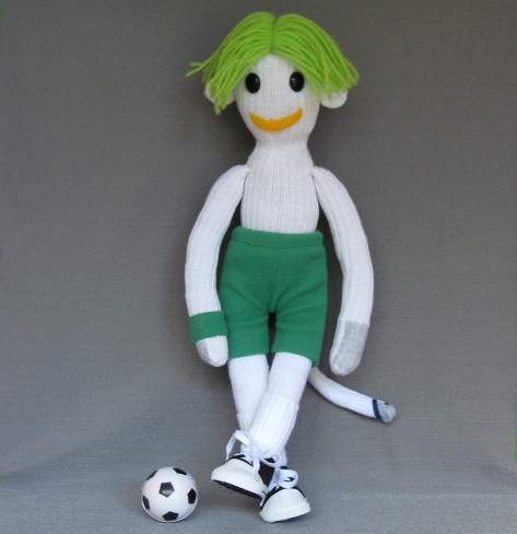 Eddie the teenage soccer nut.