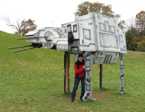 """Sandra vs. the Empire! """"I have a bad feeling about this..."""""""