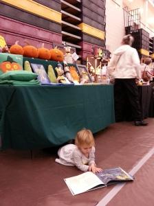 ChatterSox customer at the Horton Craft Fair