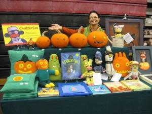 ChatterSox table at Horton Craft Fair 2015