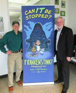 FRANKENSTINK! launch Keith Irving